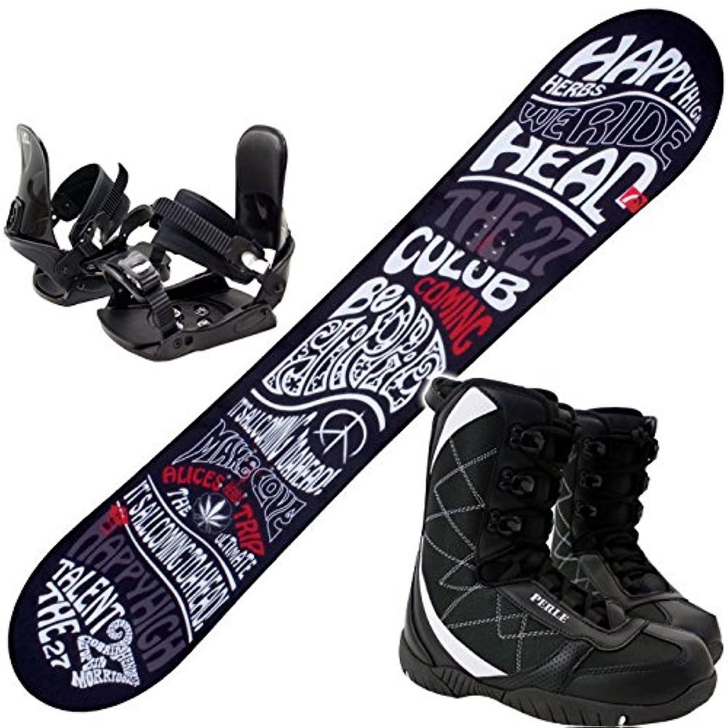 責宿る司教ヘッド(HEAD) スノーボード 3点セット 15-16 TALENT FLOCKA M 金具付き ブーツ付き