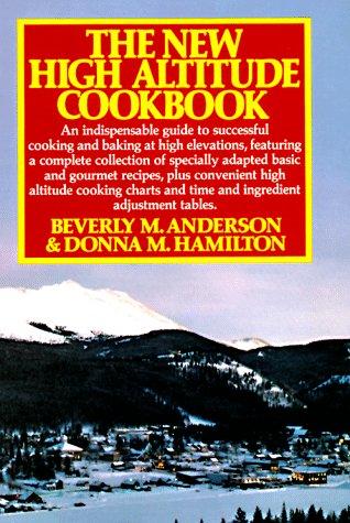 New High Altitude Cookbook