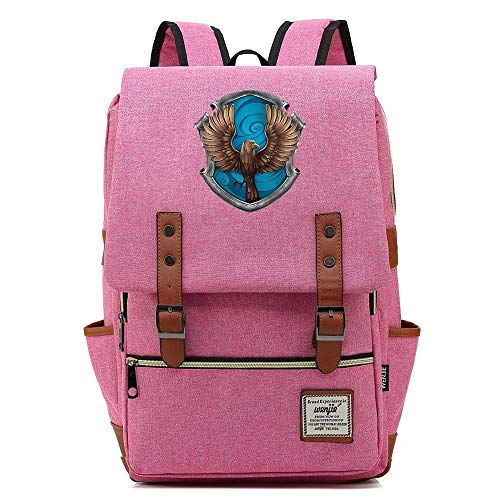 Casual Daypack, Ravenclaw Harry P Rucksack, Lightweight School Travel Rucksack, Fits 15'' Laptop Tablet 16 inch. Color-10.