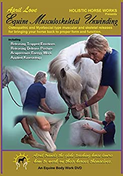 Holistic Horseworks Level 1 Equine Musculoskeletal Unwinding Massage DVD Course - Holistic Therapy Massage technique - Submit 5 Case Studies for Level 1 Certification - For Novice and Pro Horse Lovers