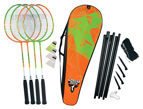 Talbot Torro Unisex – Erwachsene Badminton Federball, 4-Attacker Plus Set, 449506