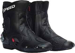 52d3b7e516e LLC-POWER Hombres de la Calle de la Motocicleta Botas, Zapatos de Carreras  de