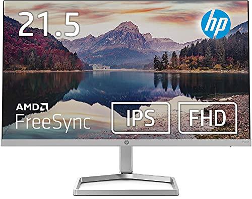 HP モニター 21.5インチ ディスプレイ フルHD 非光沢IPSパネル 高視野角 超薄型 省スペース スリムベゼル HP M22f 背面ブラック 3年保証付き(型番:2E2Y3AA-AAAA)