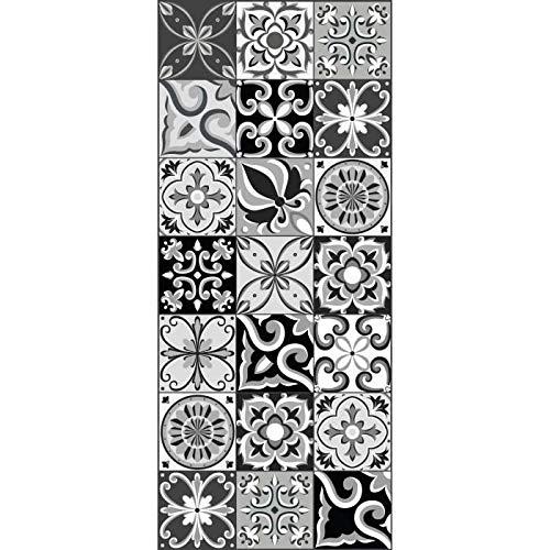 AUTRES Tapis - Dessous DE Tapis AMADORA Tapis 100% Vinyle - Imitation Carreau de Ciment - 49,5x112,5 cm - Epaisseur 1,5 mm - No