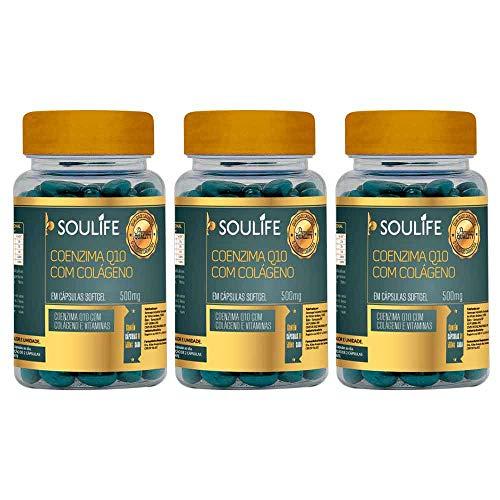 Pague 2 Leve 3 - Coenzima Q10 com Colágeno - 60 Cáps - Soulife