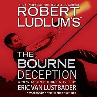 The Bourne Deception audiobook cover art