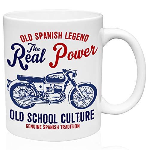 Bultaco mercurio 155 real power 11oz Taza de café de cerámica de alta calidad
