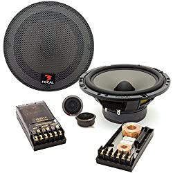 165 V20 - Focal 6.5 inc 70W RMS Polyglass Series 2-Way Component Speakers System