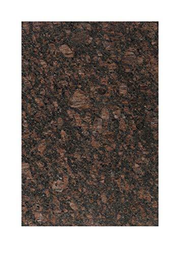 Granito piastrelle Tan Brown modello piatto 30,5x 30,5x 1cm; piastrelle in qualità premium AB 41,90€ qm di pietra naturale di piastrelle