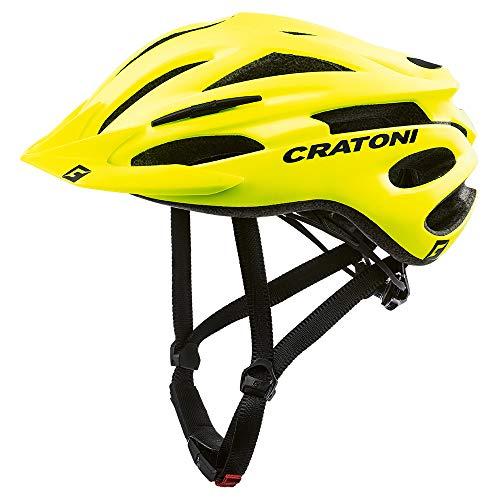 "Cratoni Mountainbike-Helm ""Pacer"", Neongelb, matt, Größe L/XL 58-62,..."
