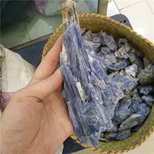 KAPU Natürliche Rought Blue Crystal Raw Kyanite Stones, 400G