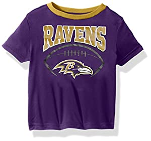 NFL Baltimore Ravens Unisex Short-Sleeve Tee, Ravens, 3T