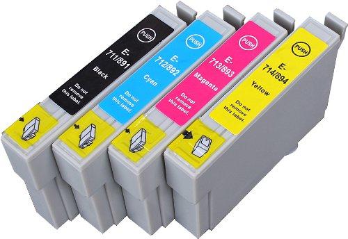 4 Multipack XL Epson T0715 , T0895 Patronen Kompatible. 1 schwarz, 1 cyan, 1 magenta, 1 gelb für Epson Stylus D120, Stylus D78, Stylus D92, Stylus DX4000, Stylus DX4050, Stylus DX4400, Stylus DX4450, Stylus DX5000, Stylus DX5050, Stylus DX6000, Stylus DX6050, Stylus DX7000F, Stylus DX7400, Stylus DX7450, Stylus DX8400, Stylus DX8450, Stylus DX9400F, Stylus Office B40W, Stylus Office BX300F, Stylus Office BX310FN, Stylus Office BX600FW, Stylus Office BX610FW, Stylus S20, Stylus S21, Stylus SX100, Stylus SX105, Stylus SX110, Stylus SX115, Stylus SX200, Stylus SX205, Stylus SX210, Stylus SX215, Stylus SX218, Stylus SX400, Stylus SX405, Stylus SX405WiFi, Stylus SX410, Stylus SX415, Stylus SX510W, Stylus SX515W, Stylus SX600FW, Stylus SX610FW. Tintenpatrone. Tinten kompatible Druckerpatronen. T0711 , T0712 , T0713 , T0714 , T0891 , T0892 , T0893 , T0894 , TO711 , TO712 , TO713 , TO714 , TO891 , TO892 , TO893 , TO894 © Patronenland