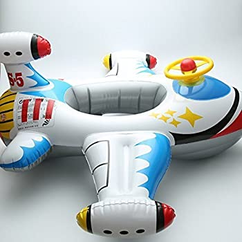 Micord Summer Fun Inflatable Baby Float,Pool Float for Kids,Inflatable Boat Raft (D)