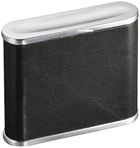 WINDMILL(ウインドミル) 携帯灰皿 ハニカムミニ 革巻き 5本収納 ブラック 604-0100