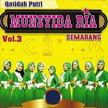 Qasidah Putri Munsyida Ria, Vol. 3