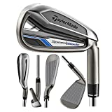 TaylorMade Men's SpeedBlade Golf Complete Set, Left Hand, Steel, Regular, 4-PW