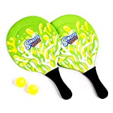 Sunlite Sports Beach Paddle Game Set, 2 Paddles and 2 2 Balls, Perfect for Backyard Fun or Outdoor or Beach or Lawn.