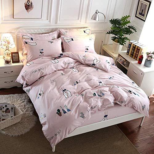 XZHYMJ 3D Duvet Cover Double Bed Bedding Set Colour Fashion Bedding Set 3-Piece 200 x 200 cm Cotton Microfiber Partner Bed Linen Pillowcase Small Flower 16 220 * 240cm-10_200*200cm