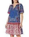 Derhy Cadeau Vestido, Azul, 44 para Mujer