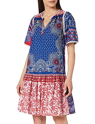 Derhy Cadeau Vestido, Azul, 40 para Mujer