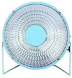 XUHRA Radiador Eléctrico con El Swing De Cerámica 30 Grados A La Habitación Y La Comida Casera De 500 Vatios, Azul