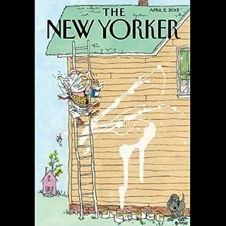 Couverture de The New Yorker, April 2nd 2012 (Rebecca Mead, Lauren Collins, David Sedaris)