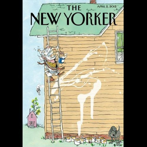 The New Yorker, April 2nd 2012 (Rebecca Mead, Lauren Collins, David Sedaris) cover art
