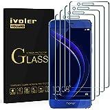 iVoler [4 Pack] Pellicola Vetro Temperato per Huawei Honor 8, Pellicola Protettiva, Protezione per Schermo
