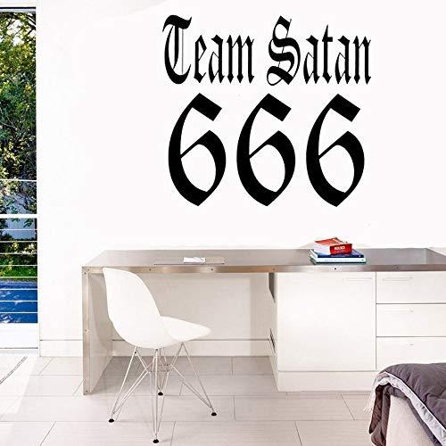 wandaufkleber baby mädchen Team Satan Allwetter Styling Sticker Aufkleber für Kinder Schlafzimmer Jungen Schlafzimmer