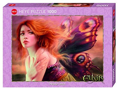 Heye- Butterfly Wings Puzle, Multicolor (HY29612)