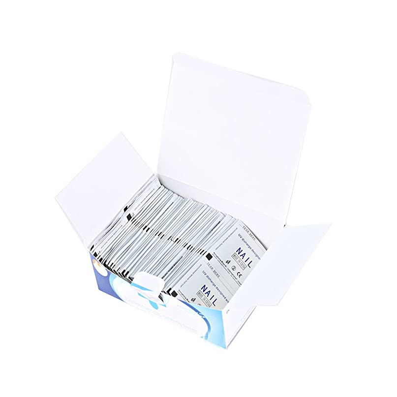 対人定常香りMakeupAcc ネイルリムーバーホルム 使い捨て 200枚 高効率 使いやすい [並行輸入品]