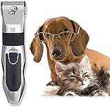 NANI Perro Clippers Pet Grooming Clipper, de bajo ruido de pelo eléctrico Clippers Conjunto for Mascotas Perros Gatos,...