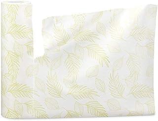 Feuille rigide en forme de cercle complet, serviettes en papier bambou réutilisables, bourgeons d'arbre