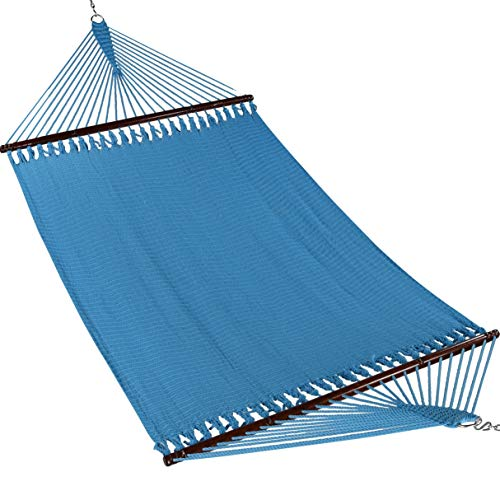 Caribbean Hammocks Jumbo 55 INCH - Soft-Spun Polyester (Light Blue)