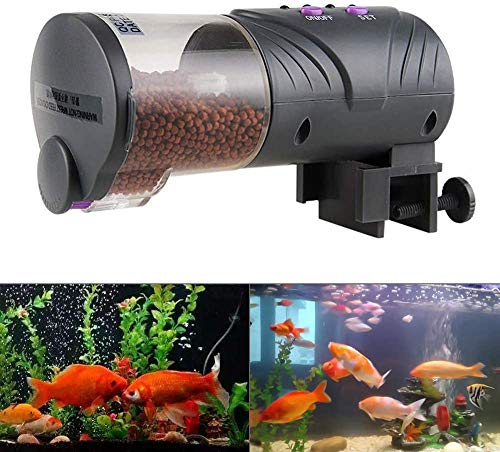 Aquarium Feeder Timer Aquarium Digital programmeerbare vis feeder aquarium visvoer voor een weekend vakantie