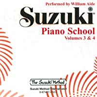 Suzuki Piano School Volumes 3 and 4: Volumes 3 & 4