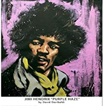 High Quality Jimi Hendrix Art Print - Purple Haze