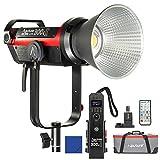 Aputure COB 300D Mark II 300D II - Iluminación LED para vídeo (80 000 Lux @ 1 m, aproximada a la luminosidad de un IHM 575 W, primer mando a distancia inalámbrico controlado por las 2.4 GHz)