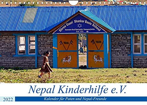 Kalender 2022 der Nepal Kinderhilfe e.V. (Wandkalender 2022 DIN A4 quer)