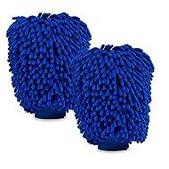 Yacoto Car Wash Mitts (Blue)
