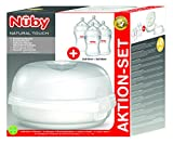 Nuby NTVP30 - Esterilizador de microondas