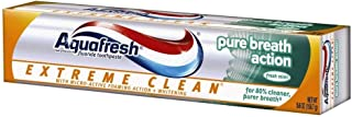 Aquafresh Extreme Clean Pure Breath Action, Fresh Mint, 5.6 Ounce, Pack of 5