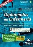 Diplomados en Enfermería del SAS. Temario específico. Vol. 2 (Oposiciones)
