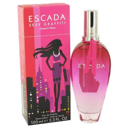 ĘSƇADA Sexy Graffiti Perfume For Women 3.4 oz Eau De Toilette Spray +Free Especially-Vial