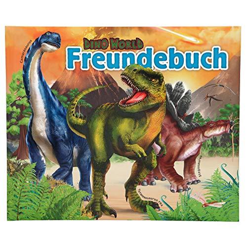 Depesche 11161 Freundebuch Dino World, ca. 17,5 x 21 x 1,5 cm