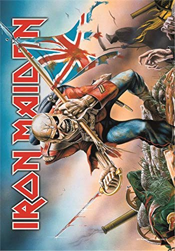 Iron Maiden - Trooper Flagge