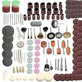 Sander tambor Tambor fijado Sander lija manguitos 12 Piezas Mandriles de tambor 120 unidades de lijado de banda mangas para herramienta rotativa Dremel