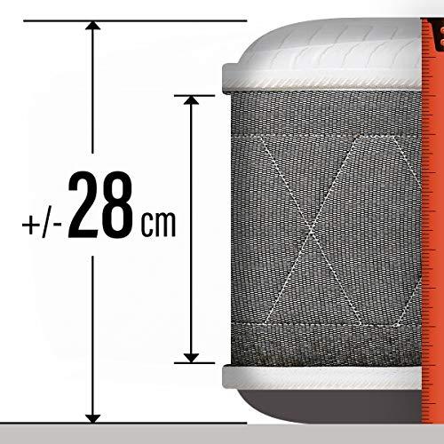 PIKOLIN I Colchón de muelles Gama Premium I Firmeza Alta Normablock I Confort Alto viscoelástico y Fibra I Protección Higiènica Total I Retirada Usado incluída I 28 cm I 135x190 I Modelo AVA