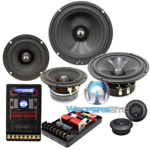 Review Of HD-642 - CDT Audio 6.5 / 4 250W RMS 3-Way Main Series Component Speakers System